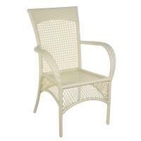 """Плетеное обеденное кресло из искусственного ротанга """"Ажур"""""""
